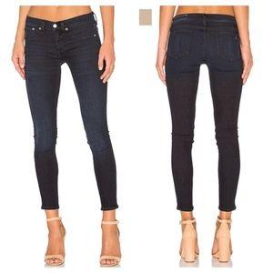 Rag & Bone Capri Skinny Jeans Lynnwood Dark Wash